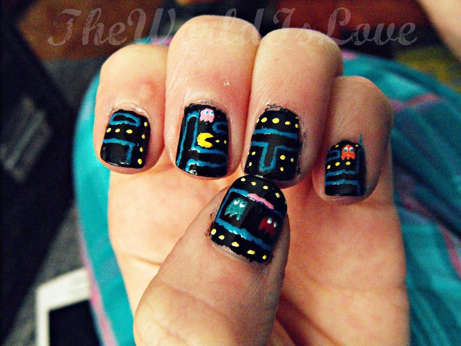 Pacman! by TheWorldIsLove