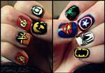 Superhero Nails!