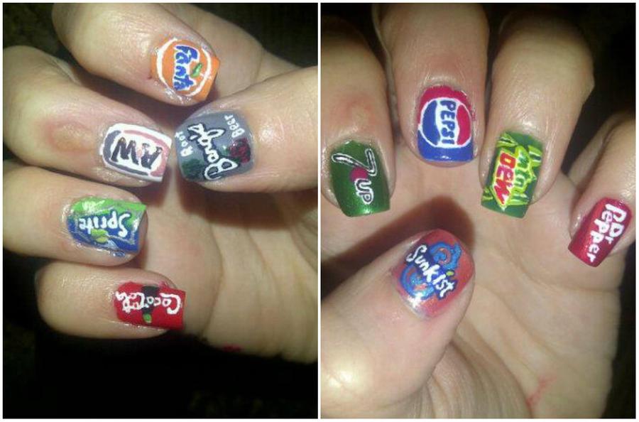 Soda Logos by TheWorldIsLove