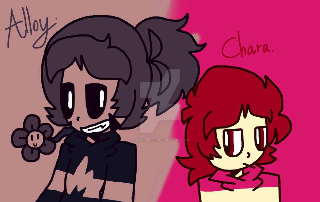 Chara And Alloy Palettes by ItzMeViolet
