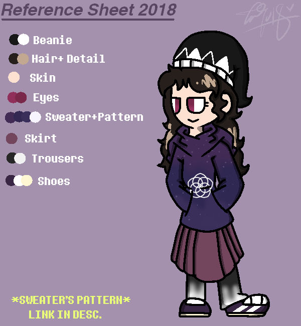 Reference Sheet 2018