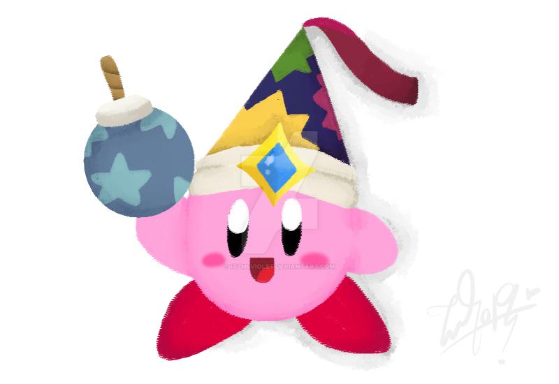 Bomb Kirby by ItzMeViolet
