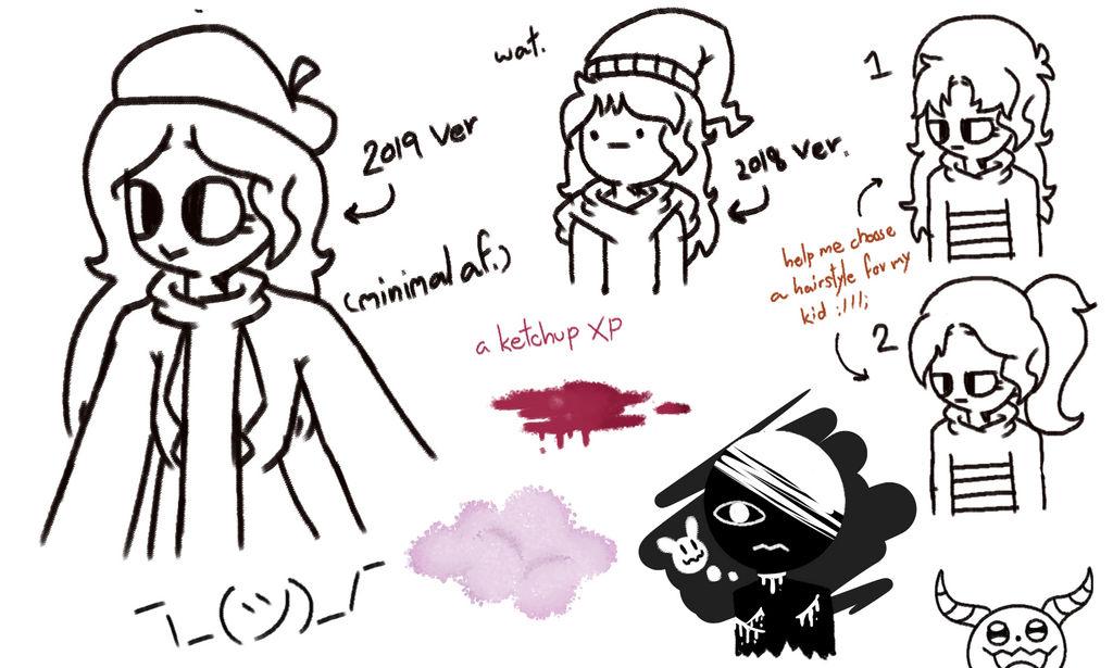 Doodles. by ItzMeViolet