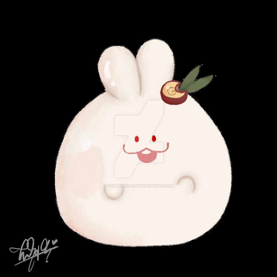 a rabbit. by ItzMeViolet