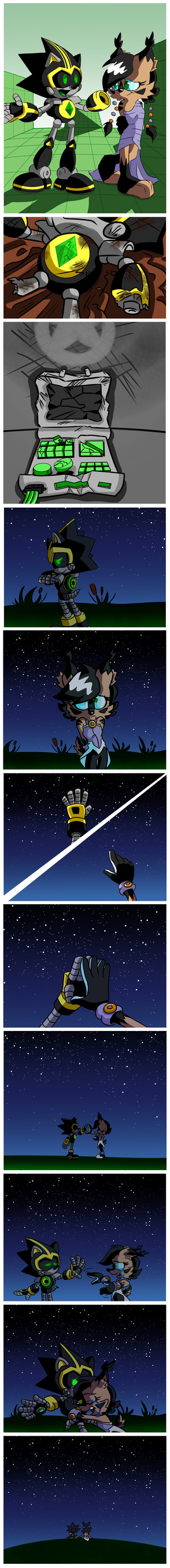 Reach for the Stars, a Shardcole comic by BohemianLizardKing