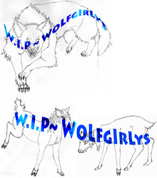 2 W.I.P.s by WoLfgIrLyS