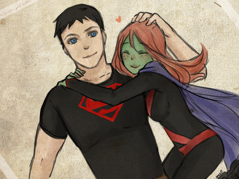 YOUNG JUSTICE: F.L by eclair-chan