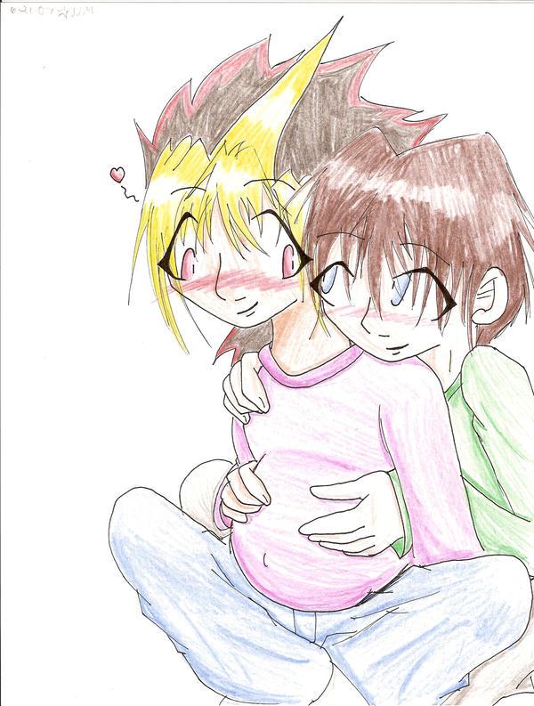 I can feel him  KxYY mpreg  by RiYuYami Maxi 32JJ's post pregnant boobs…