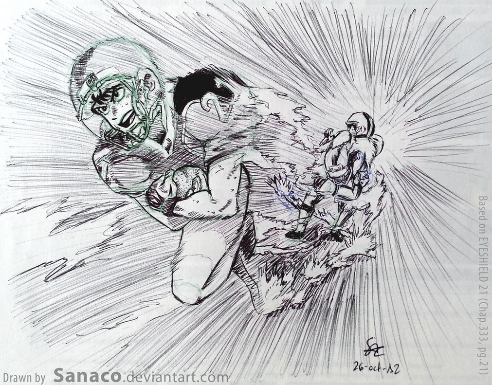 Senas Last Run End Of Eyeshield21 By Sanaco