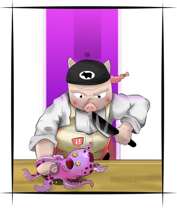 Master Pig by cristianrueda