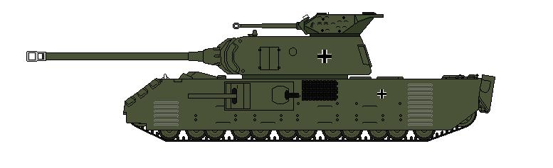 Panzer XII KonigMaus by SenkanYamato