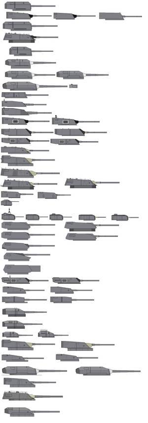 Turrets list