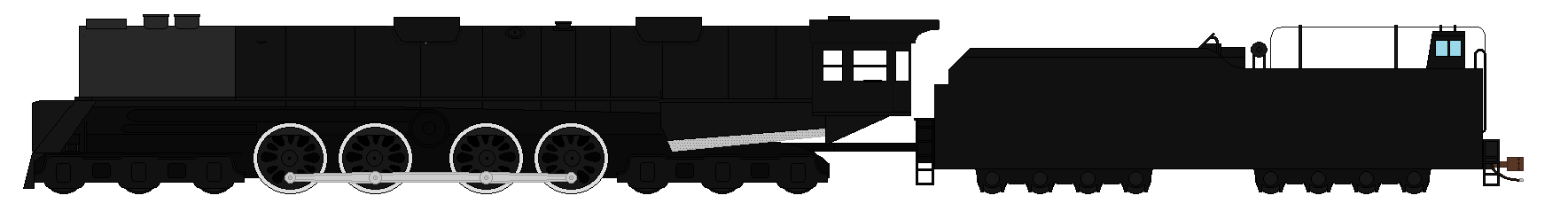 Hokkaido Steam Turbine locomotive by SenkanYamato