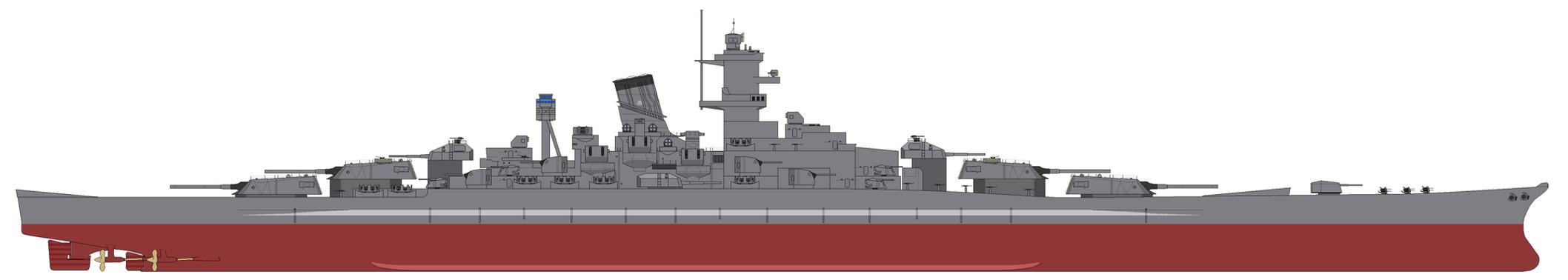 UHS Tirpitz by SenkanYamato