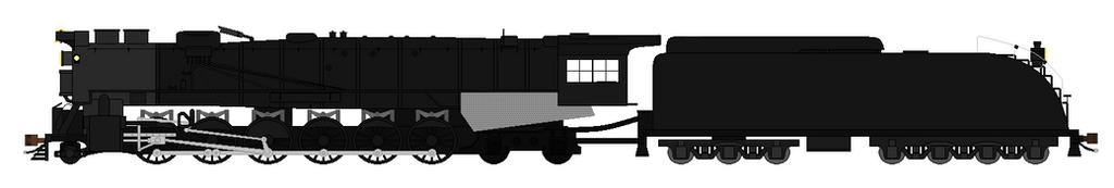 Hokkaido Steam locomotive 2-12-4 by SenkanYamato