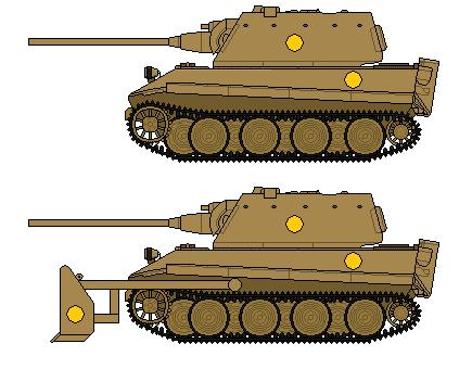 Hokkaido Panzer Tiger MK III by SenkanYamato