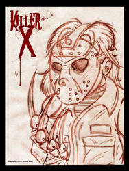 Killer-X Sketch 1 by Artist-MarcusAlley