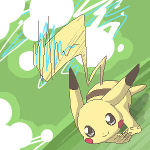 I'll Race Ya - Pikachu