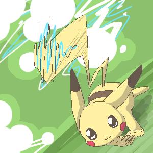 I'll Race Ya - Pikachu by Kureculari