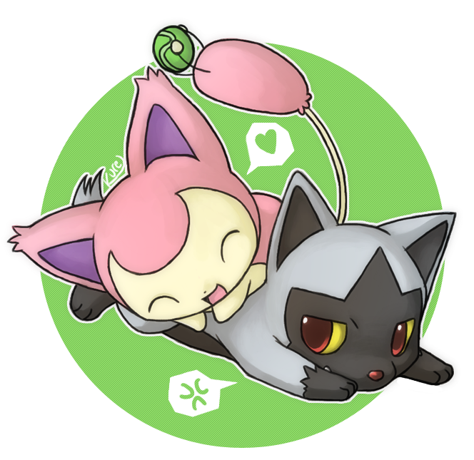 Skitty poochyena quickie by kureculari on deviantart - Pokemon skitty ...