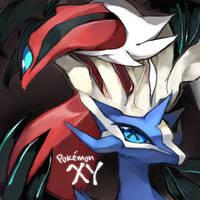 Pokemon XY by Kureculari