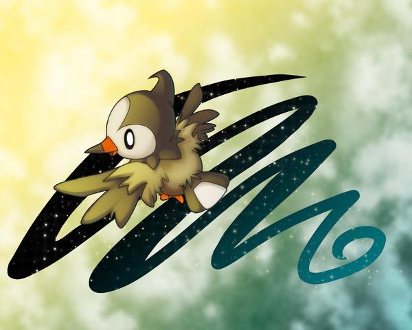 Starly Flight by Kureculari