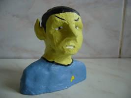Mr. Spock by b4g13nny