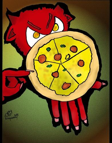 Devill Pizza by b4g13nny