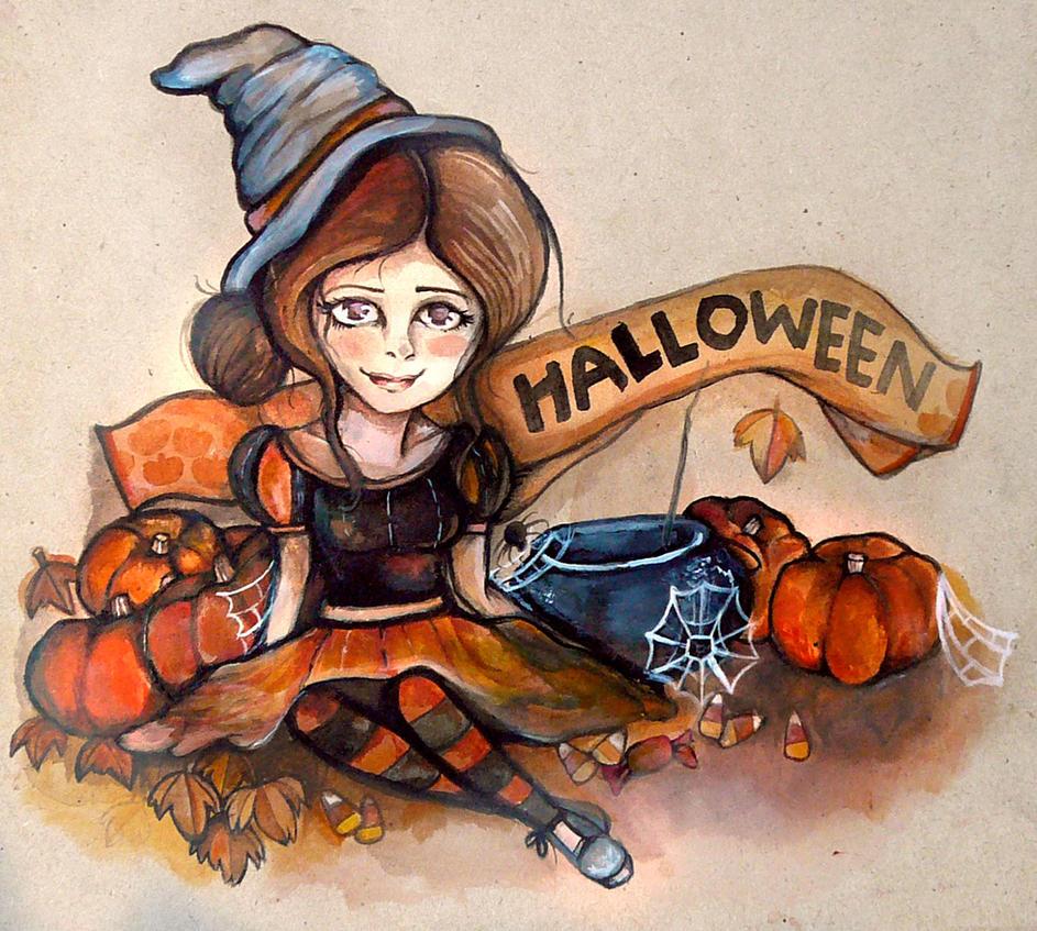 Halloween by Rubysnuff