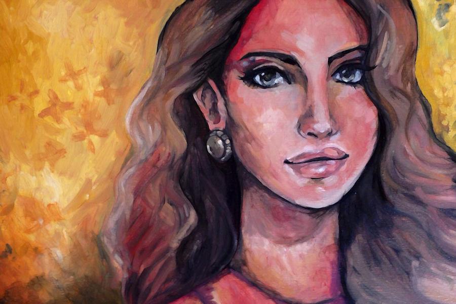Lana Del Rey by Rubysnuff