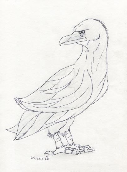 Eagle by HappyBleuDragon