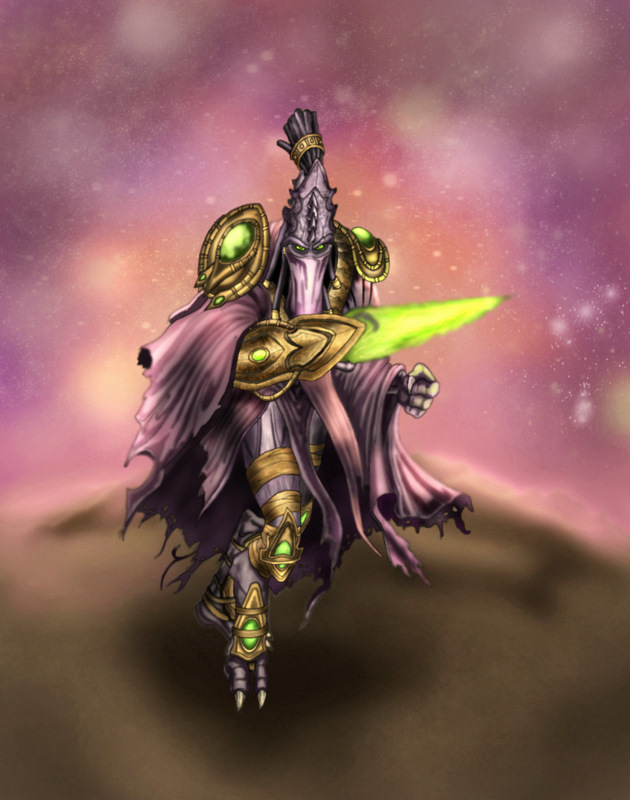 Zeratul by Deadguybeer