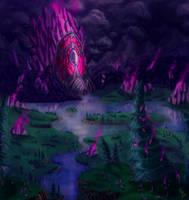 Azuremyst isle by SASHlMlSAN
