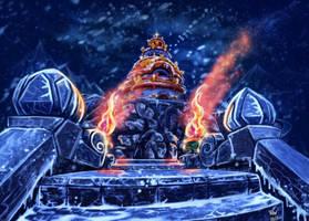 Temple of the five dawns by SASHlMlSAN