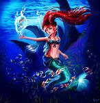 The Little Mermaid by SASHlMlSAN