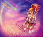 Star guardian Akali by SASHlMlSAN