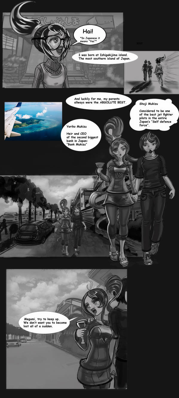 Revving up the friendship! page 22