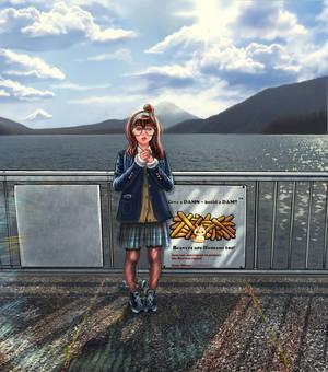 A trip to lake Motosu!