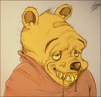 winnie the pooh by hartvig-art18
