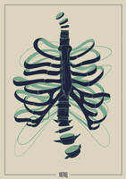 Tangled Ribcage by hartvig-art18