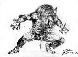 Werewolf by Rodney Buchemi by SKETCH-JAM-CAFE