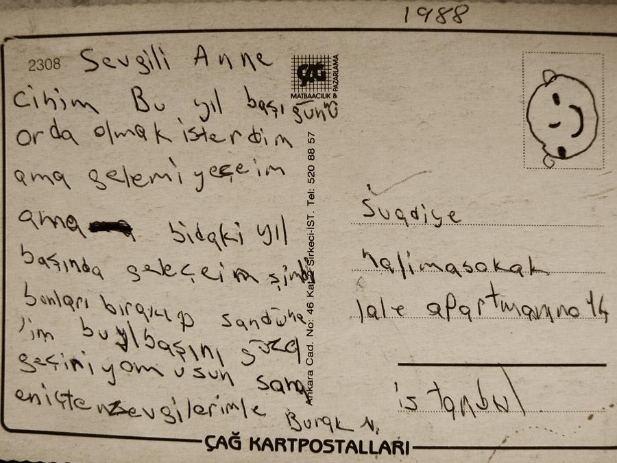 Anneme Mektup by Braq