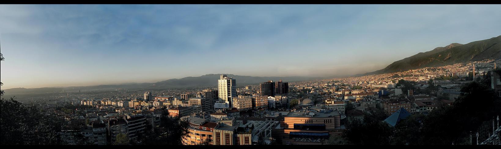 Bursa Panorama by Braq