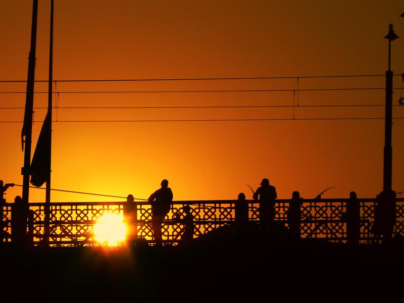 golden bridge by Braq
