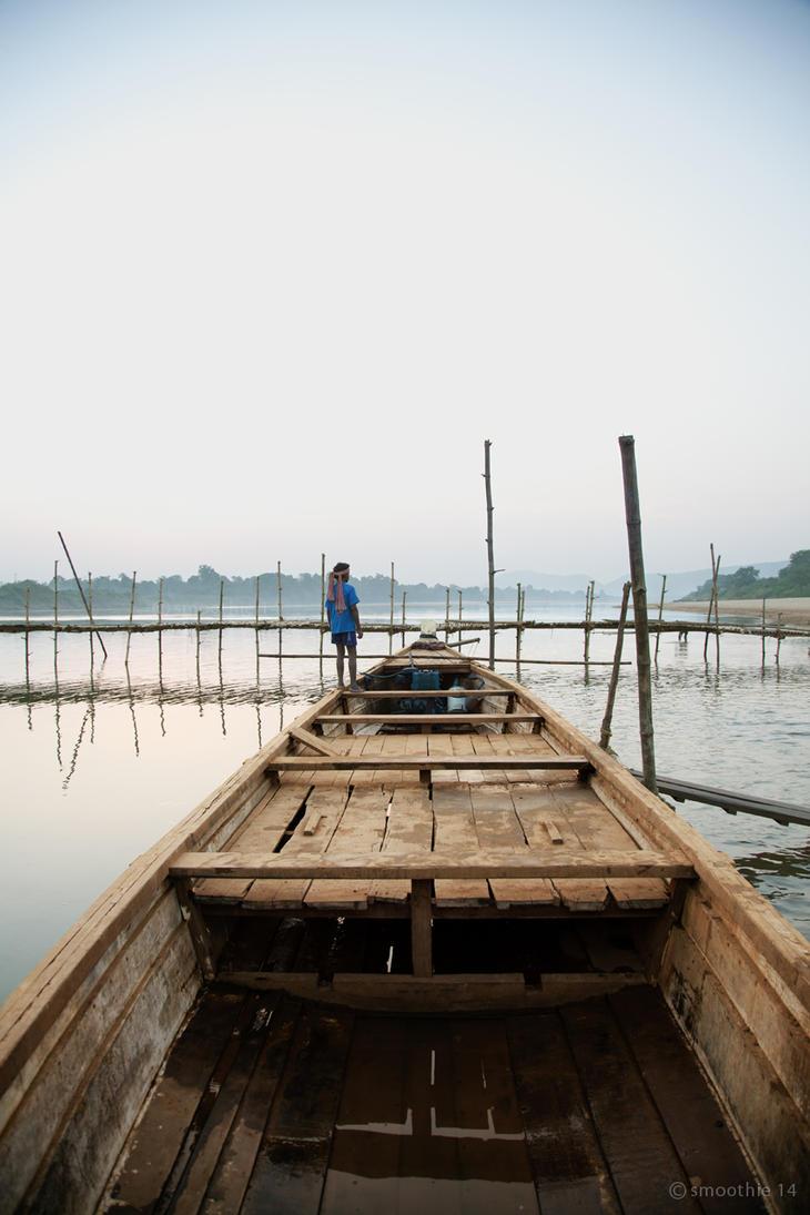 Last boat ride '14 by khurafati