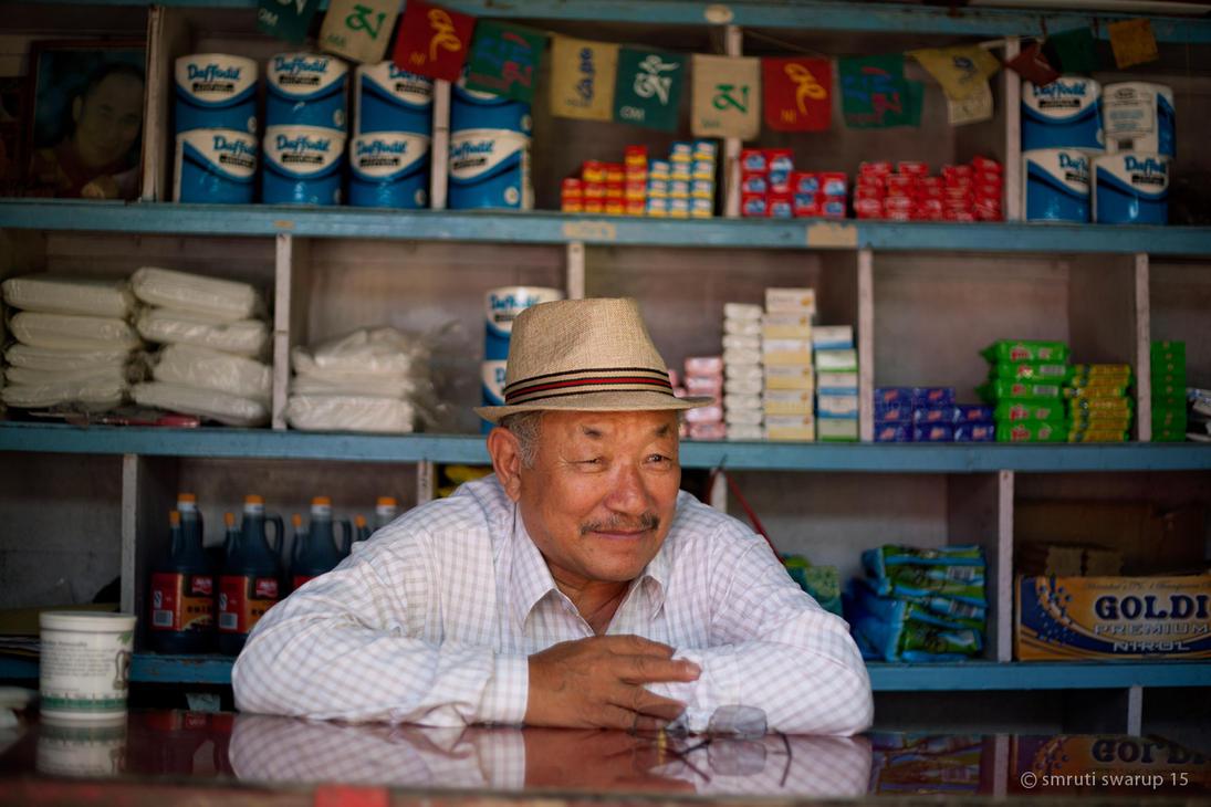 Rewalsar - Shopkeeper by khurafati