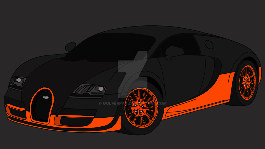 drawing of a bugatti veyron supersport by golferpat on deviantart. Cars Review. Best American Auto & Cars Review
