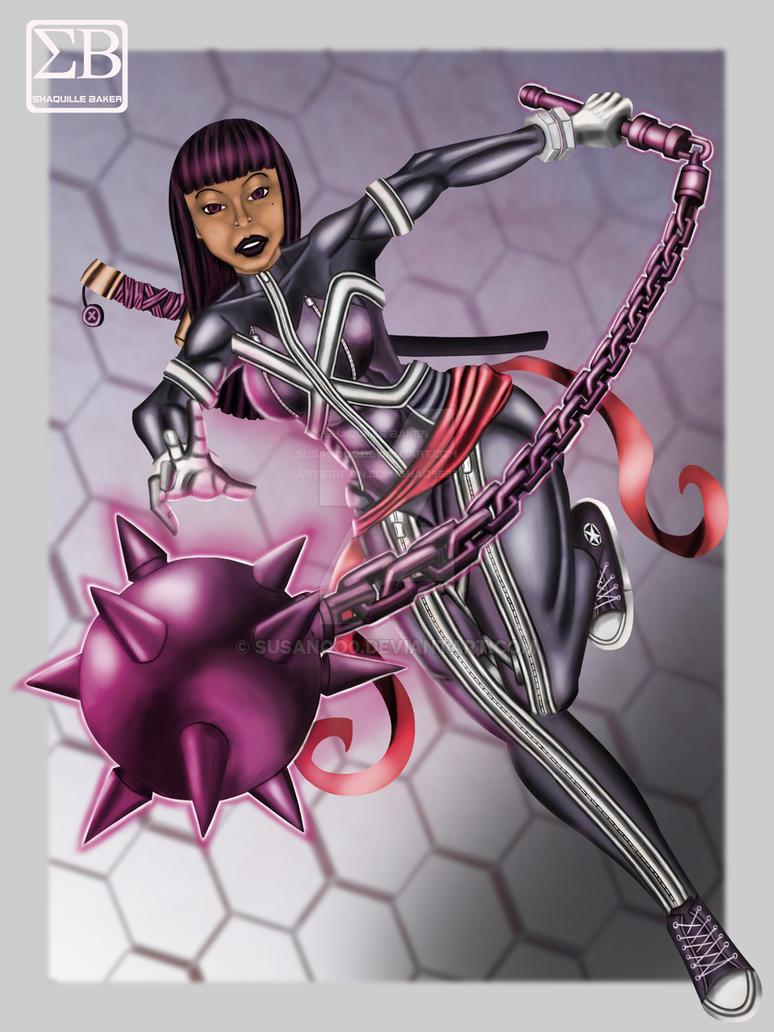 Marvel Psylocke fan art 2 by susanoo0