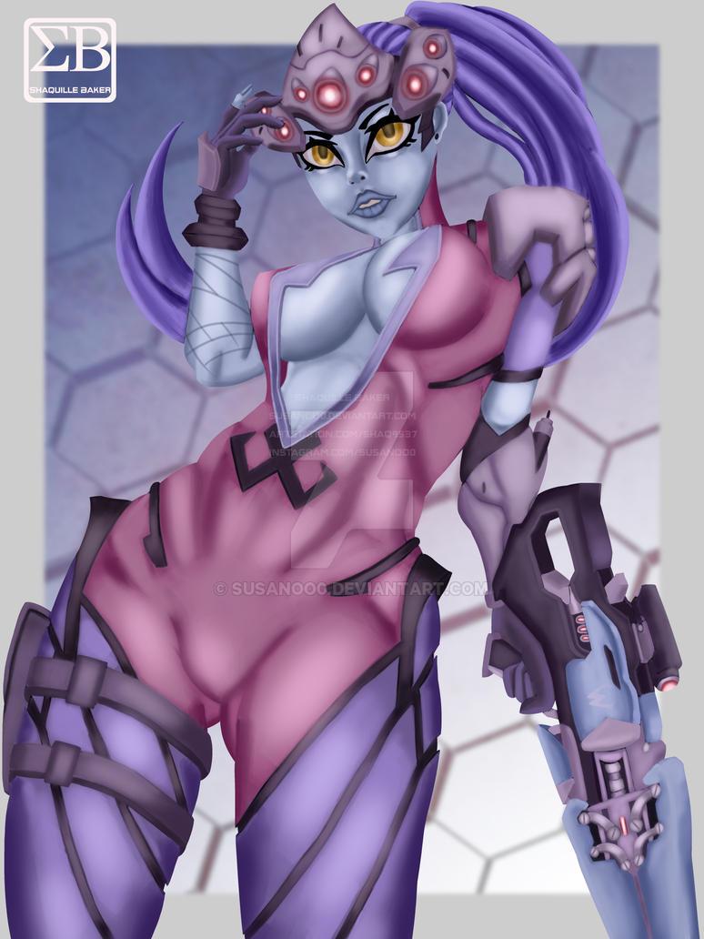 Overwatch Widowmaker fan art 1 by susanoo0