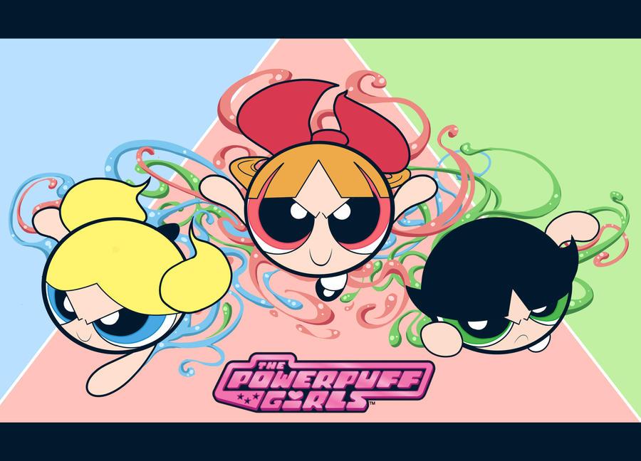 New Powerpuff Girls Powerpuff Girls by New